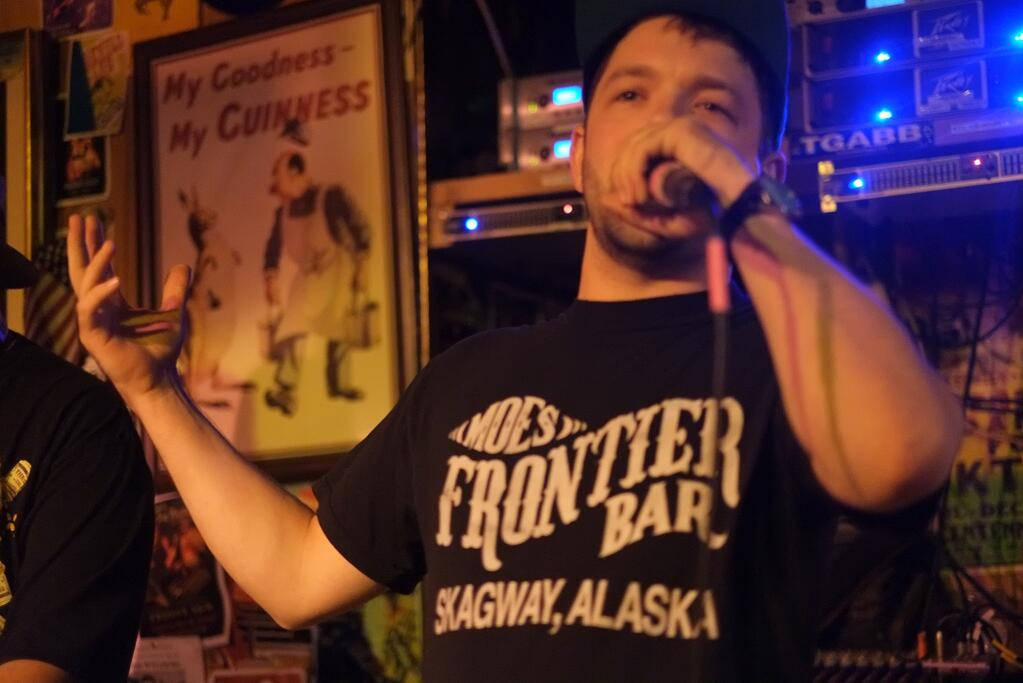 Scott Mackinnon of the FileJerks at the Alaskan on Friday August 9.