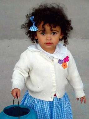 "The South Carolina Supreme Court has ordered finalization of the adoption of ""Baby Veronica"" (shown in 2011) by a couple living near Charleston, S.C. Melanie Capobianco/AP"
