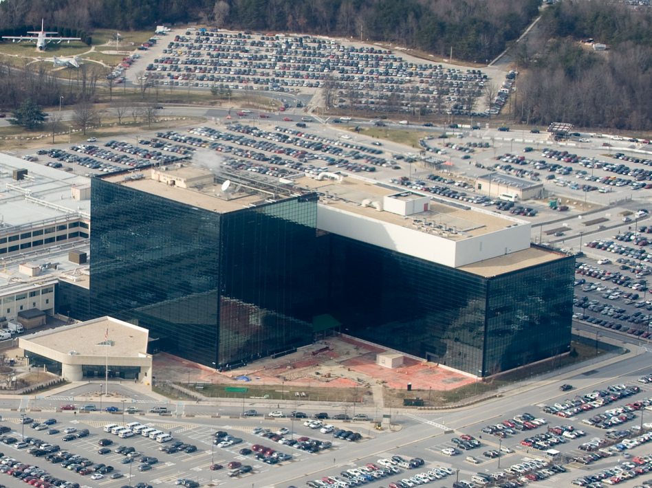 The National Security Agency headquarters at Fort Meade, Md. Saul Loeb/Getty Images