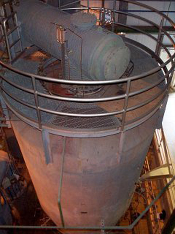 The Biosolids Incinerator (located at the Juneau-Douglas Facility) is used to burn the solid waste matter produced in the wastewater treatment processes at both the Juneau-Douglas and Mendenhall facilities.