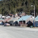 Downtown Hoonah.