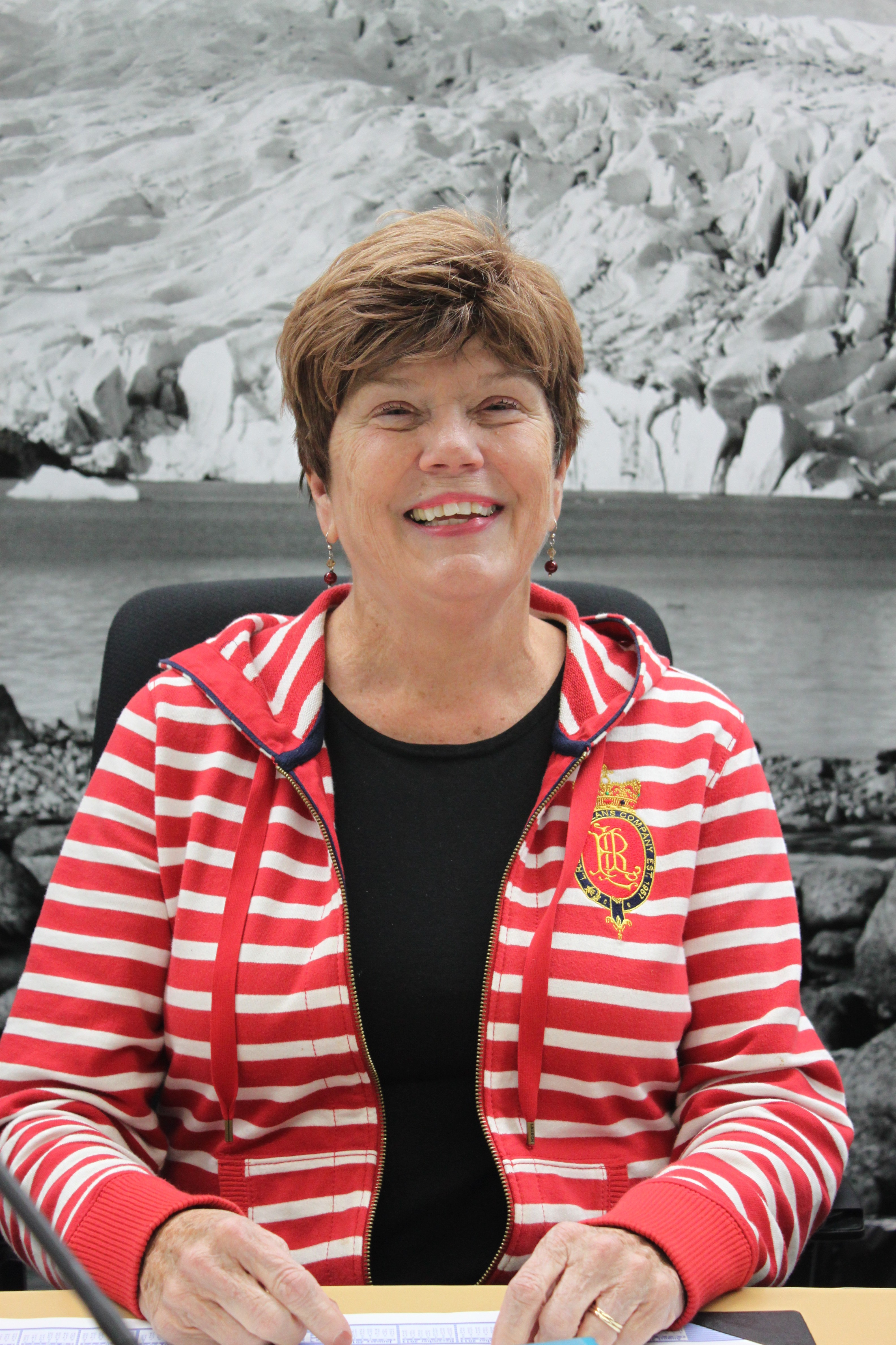 Assemblymember Mary Becker represents District 1 that includes Douglas Island and mainland Juneau from Thane to the airport. Photo by Lisa Phu/KTOO News