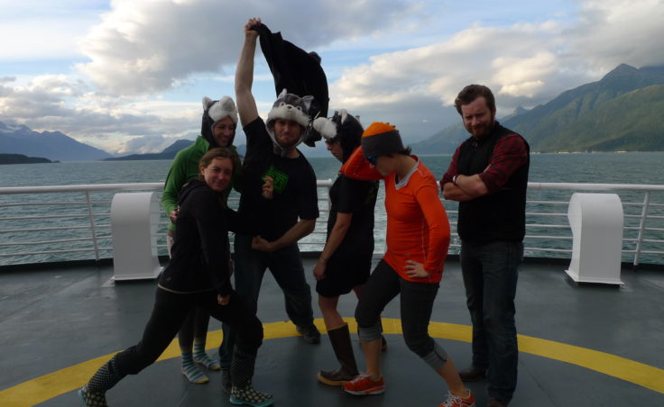 Klondike after, after party on the ferry