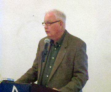 Former Gov. Frank Murkowski spoke to the Juneau Chamber of Commerce on Thursday, Sept. 19.