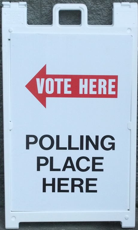 Juneau has 13 polling places.  If you don't know where to vote, call the Polling Station Locator at 1-888-383-8683, or click on the link in this story.