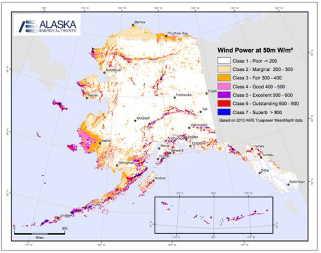 "Southeast Alaska is generally considered a poor wind prospect, but Sitka's utility director Chris Brewton says wind turbines could work as ""trickle chargers"" to help keep more water in the hydroelectric reservoirs."