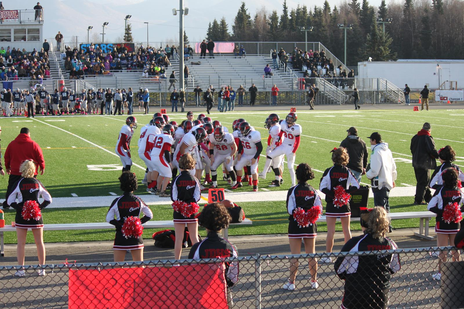 JDHS Football in Anchorage