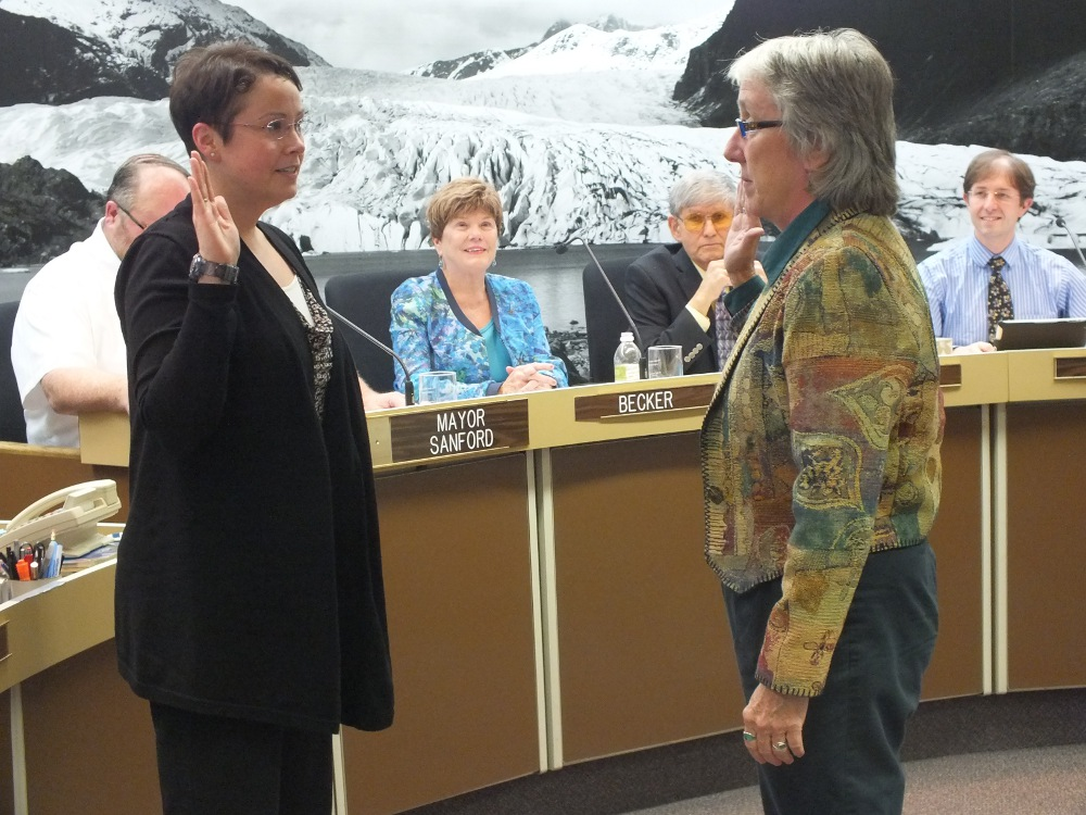Kate Troll sworn in to Juneau Assembly