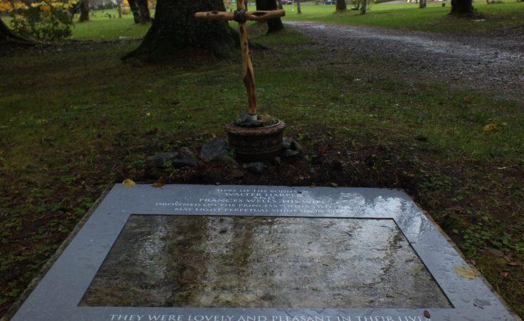 Harper Wells gravestone
