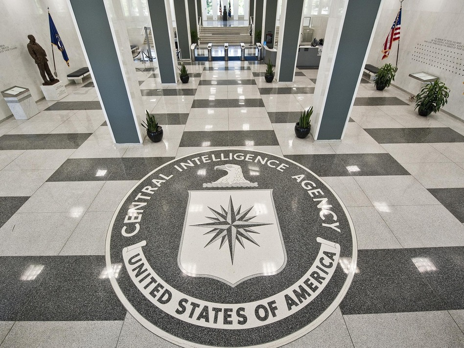 The seal of the CIA at the agency's headquarters in Virginia. Greg E. Mathieson Sr. /MAI/Landov