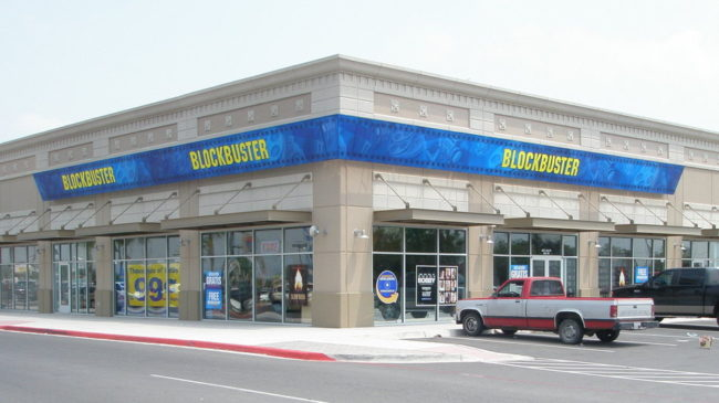 This Blockbuster store in Mission, Texas, is franchised by Border Entertainment. The company has 26 stores across Texas and Alaska that will live on after the last 300 or so company-owned stores are closed by early January 2014. Courtesy of Alan Payne