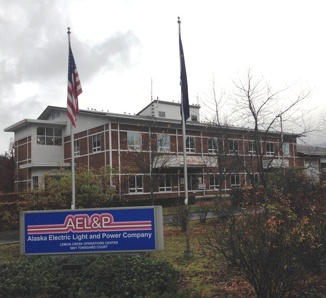 AEL&P headquarters in Lemon Creek.  (Photo by Casey Kelly/KTOO)