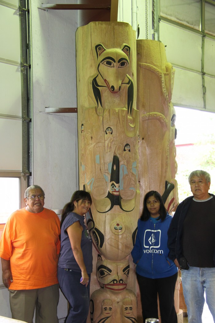 Glacier bay tribal house starts construction soon for Tribal house