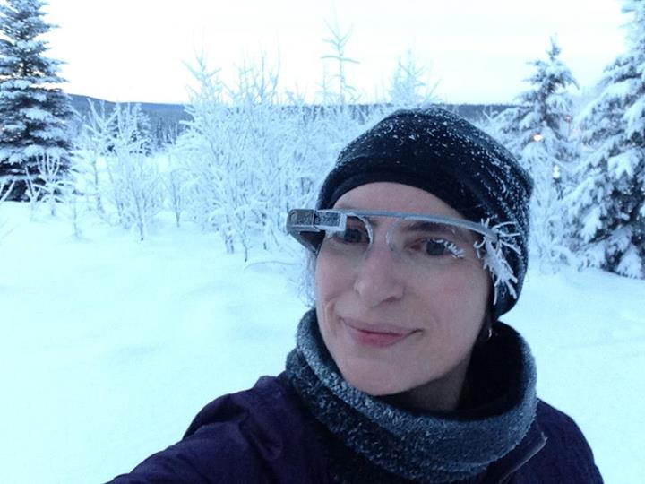 Jennifer Moss-Google Glass-snow