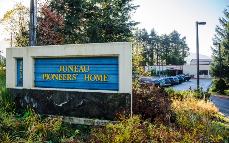 The Juneau Pioneers' Home is 25 years old.  The first Alaska Pioneers' Home opened in Sitka 100 years ago.  Photo by Heather Bryant/KTOO.