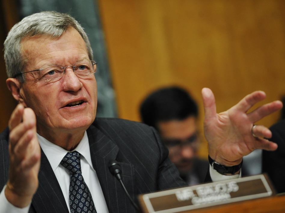 Sen. Max Baucus, D-Mont. Mandel Ngan/AFP/Getty Images