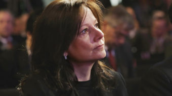 General Motors executive Mary Barra, seen here in January, will become the automaker's first female CEO. She will replace Dan Akerson, 65, who is retiring. Carlos Osorio/AP