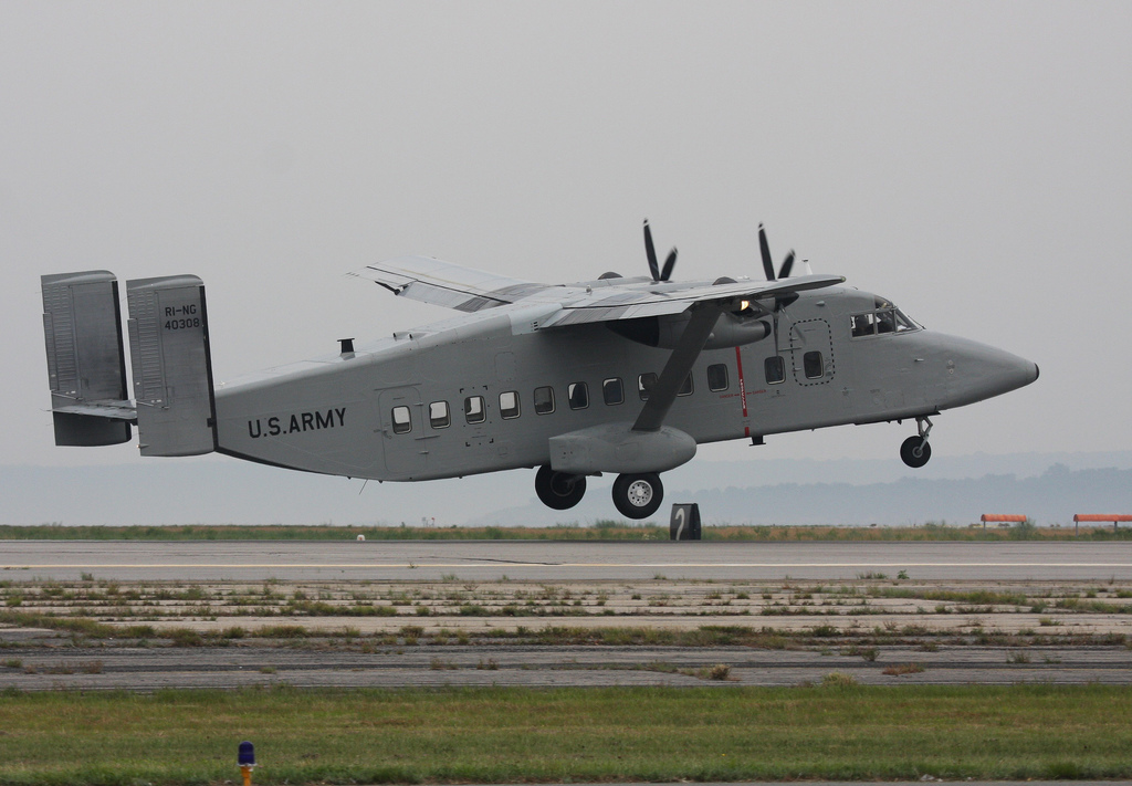 Army C-23 Sherpa (Photo by Christopher Ebdon)