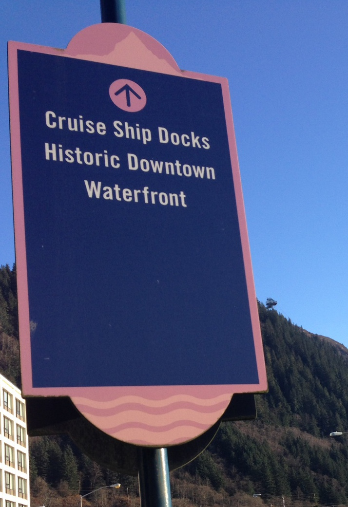 Cruise ship docks historic downtown waterfront-featured