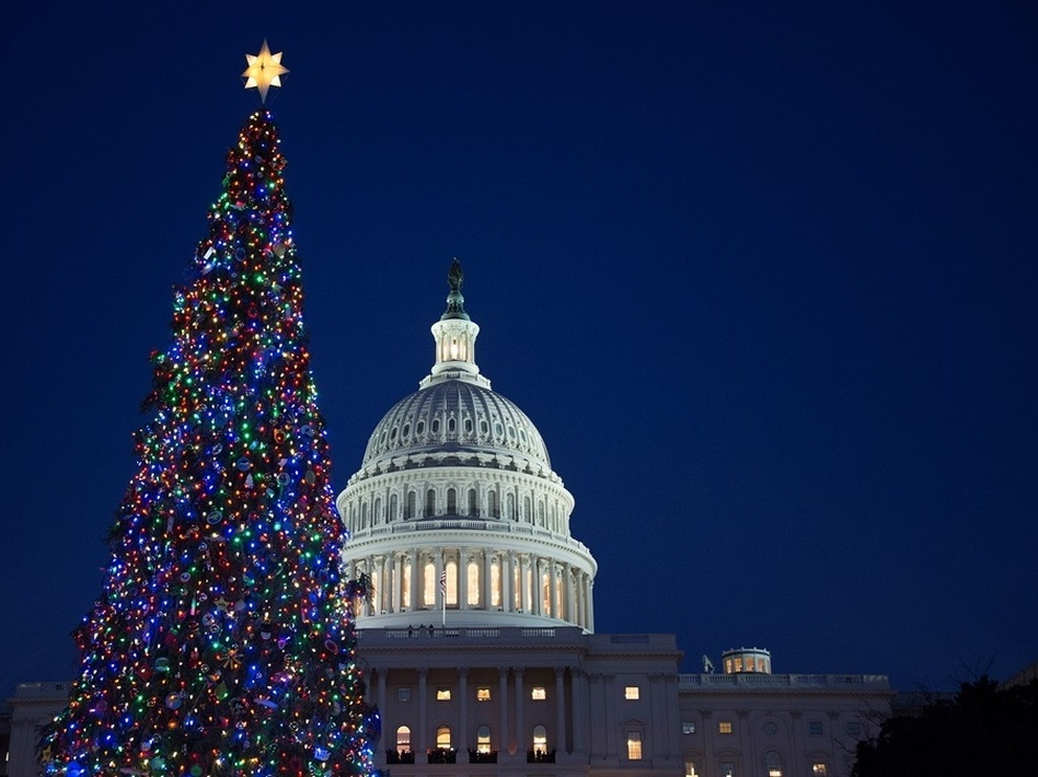 It may seem to some like a holiday miracle, but the Senate moved ahead on a bipartisan budget plan Tuesday. Jim Watson/AFP/Getty Images