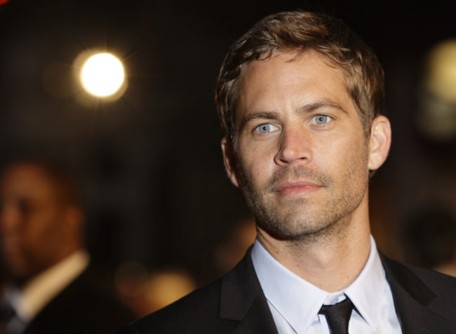 Actor Paul Walker in 2009. Joel Ryan/AP