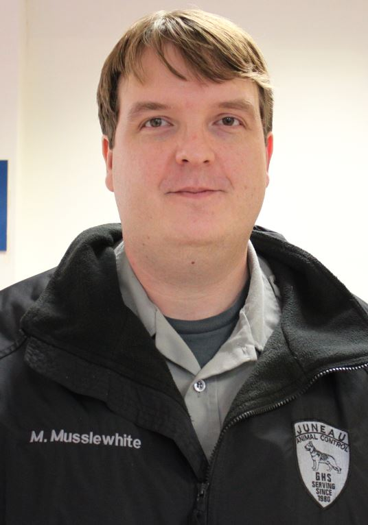 Matt Musslewhite is Director of Animal Control and Protection. (Photo by Lisa Phu/KTOO)