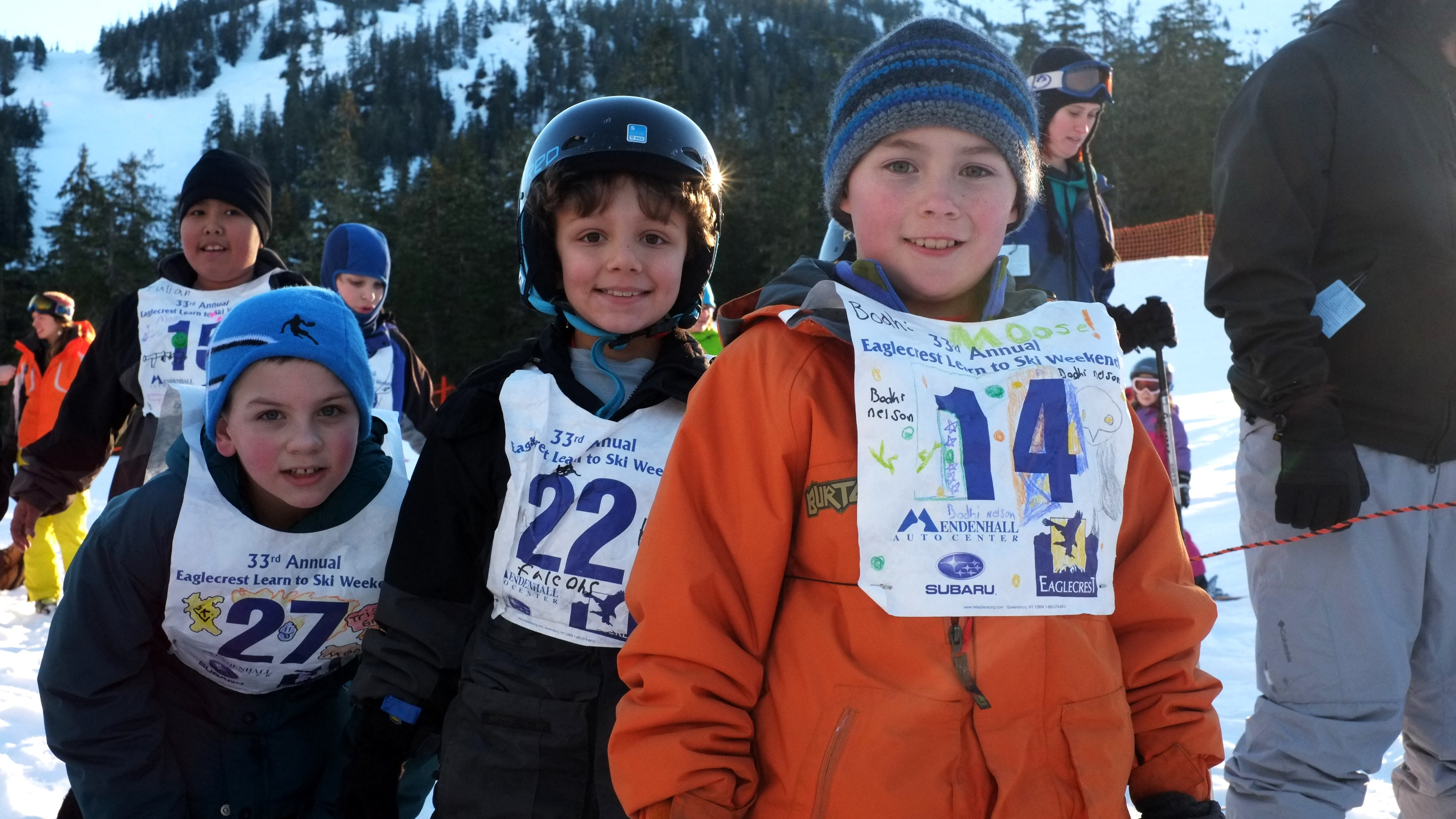 Participants in the 33rd annual Learn to Ski Weekend at Eaglecrest.