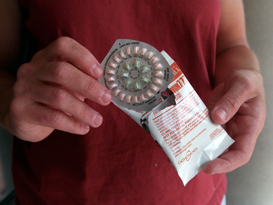 At the center of the debate: Prescription contraceptives. Tim Matsui/Getty Images