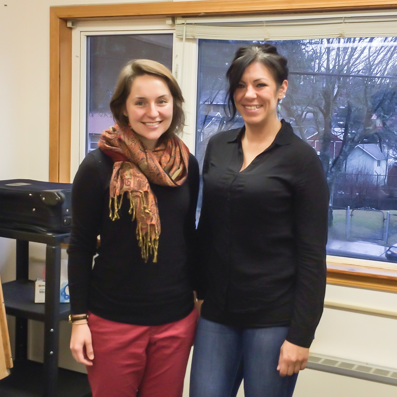 Haven House's Anne Flaherty and Kara Nelson