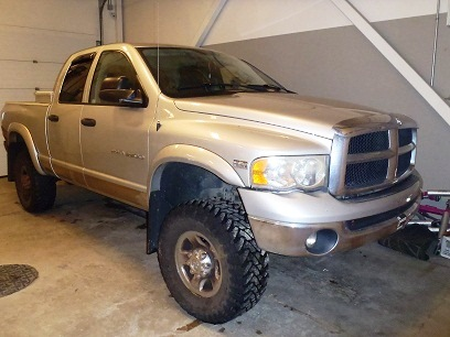 Juneau police say Dustin Daley and another man left the scene of a Jan. 1st assault in this truck. Police are still looking for the second man.