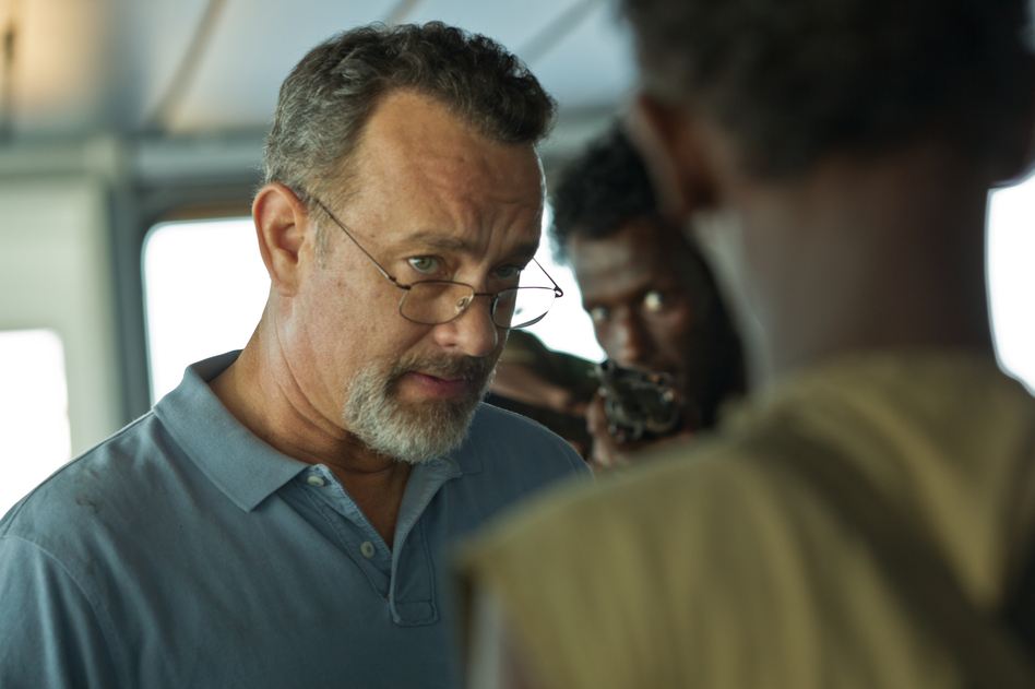 Tom Hanks in Captain Phillips. Hopper Stone, SMPSP