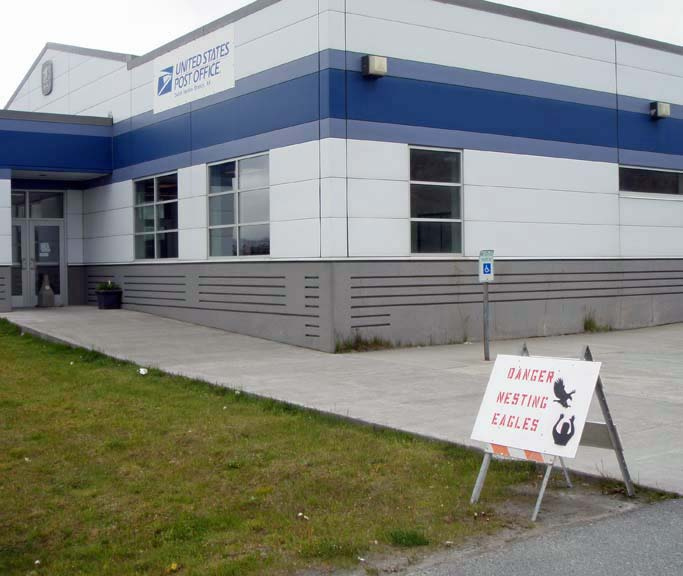 The Dutch Harbor post office. (Photo by Tom Doyle)