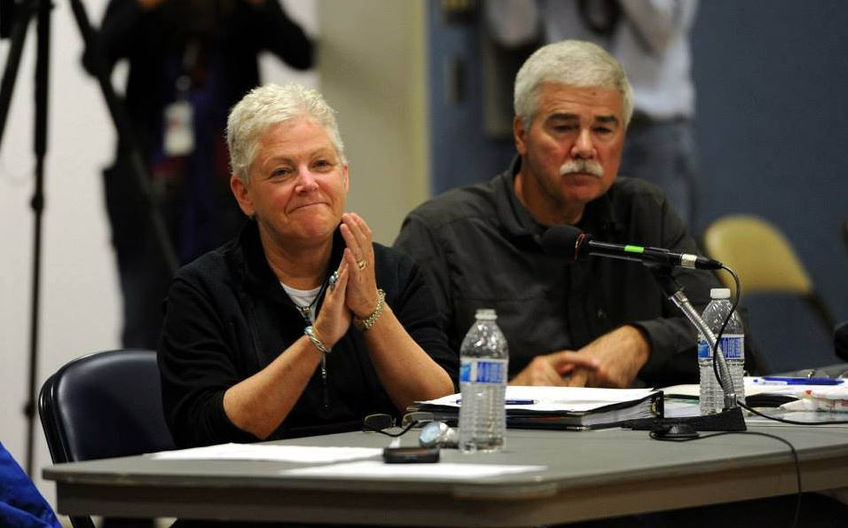 EPA head, Gina McCarthy hears testimony from Dillingham residents regarding the Pebble Mine project. (Photo by Misty Nielsen)