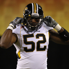 Missouri Tigers defensive lineman Michael Sam. Rick Scuteri/AP