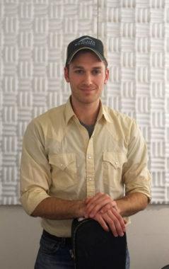 Daniel Kirkwood at KTOO. Photo by Annie Bartholomew/KTOO