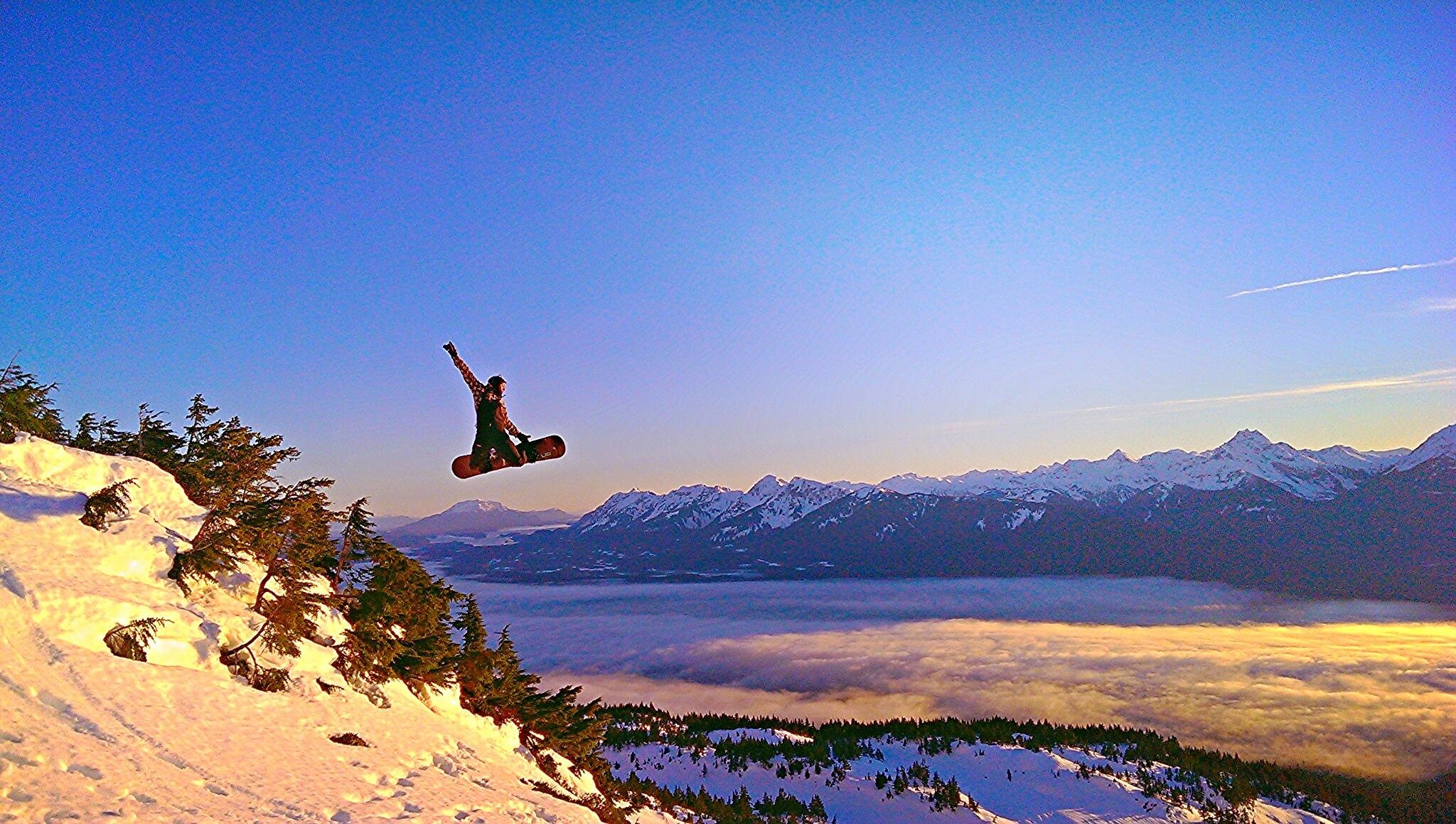 Snowboard at Eaglecrest Ski Area