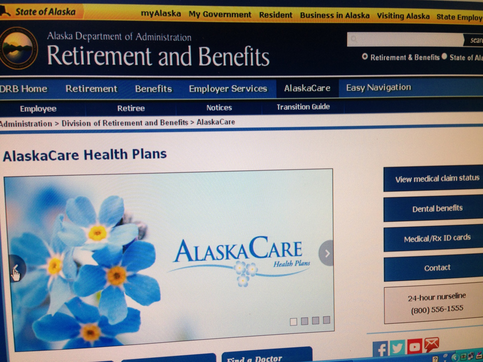 After changes were made in January to the AlaskaCare Health Plan for retirees, the state Division of Retirement and Benefits and plan administrators received nearly 50,000 emails and phone calls. (Photo by Casey Kelly/KTOO)