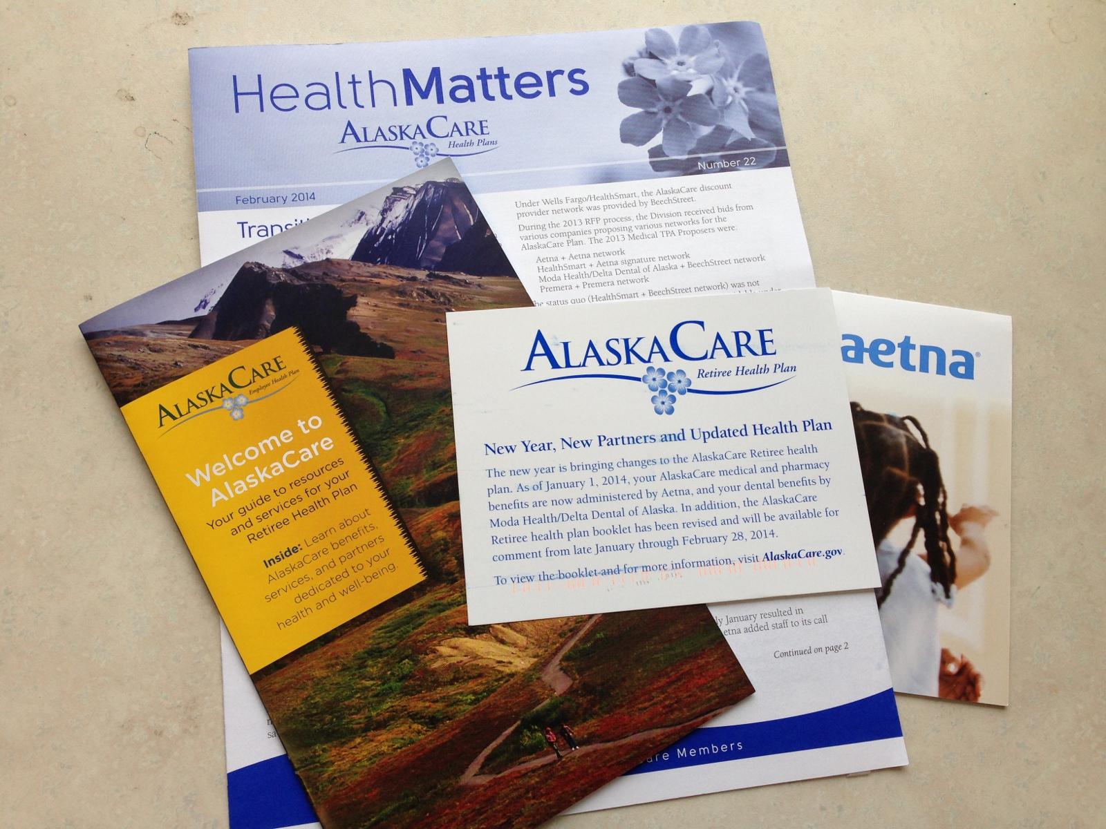 AlaskaCare mailers