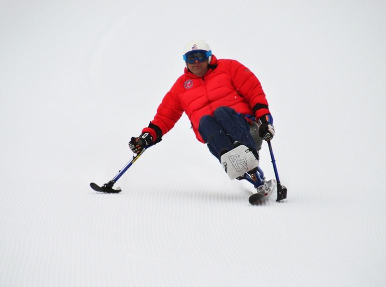 Joe Tompkins skiing at Eaglecrest Ski Area in February. (Photo courtesy Sarah Cannard, Eaglecrest)