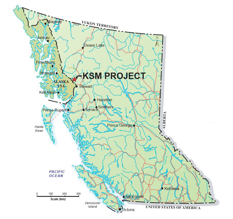 KSM map