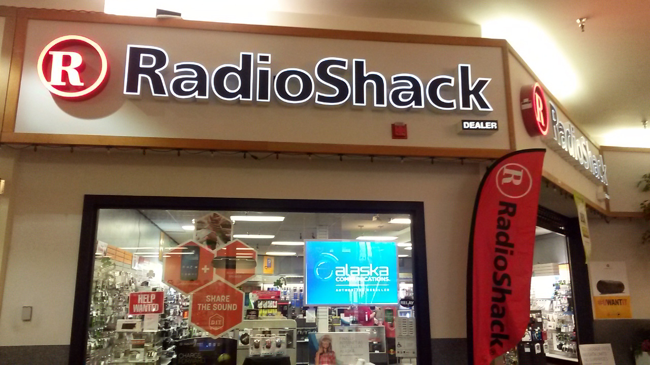 The RadioShack at the Mendenhall Mall will remain open. (Photo by Greg Culley)
