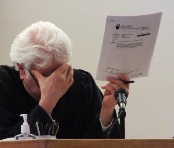 Superior Court Judge Louis Menendez
