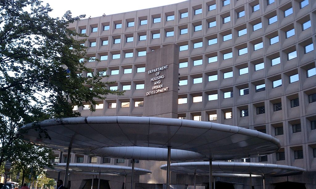The Robert C. Weaver Federal Building in Washington, D.C., in the United States. As of September 2010, the building housed the U.S. Department of Housing and Urban Development. (Wikimedia Commons)