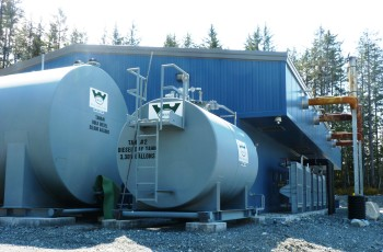 Yakutat's power plant could be supplemented with a biomass heating system for part of the northern Southeast community. (Ed Schoenfeld/CoastAlaska News)