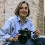 Associated Press photographer Anja Niedringhaus is seen in a 2005 photo taken in Rome. She was killed Friday in Khost, Afghanistan. AP reporter Kathy Gannon was injured. A gunman opened fire on them as they sat in a car. Peter Dejong/AP