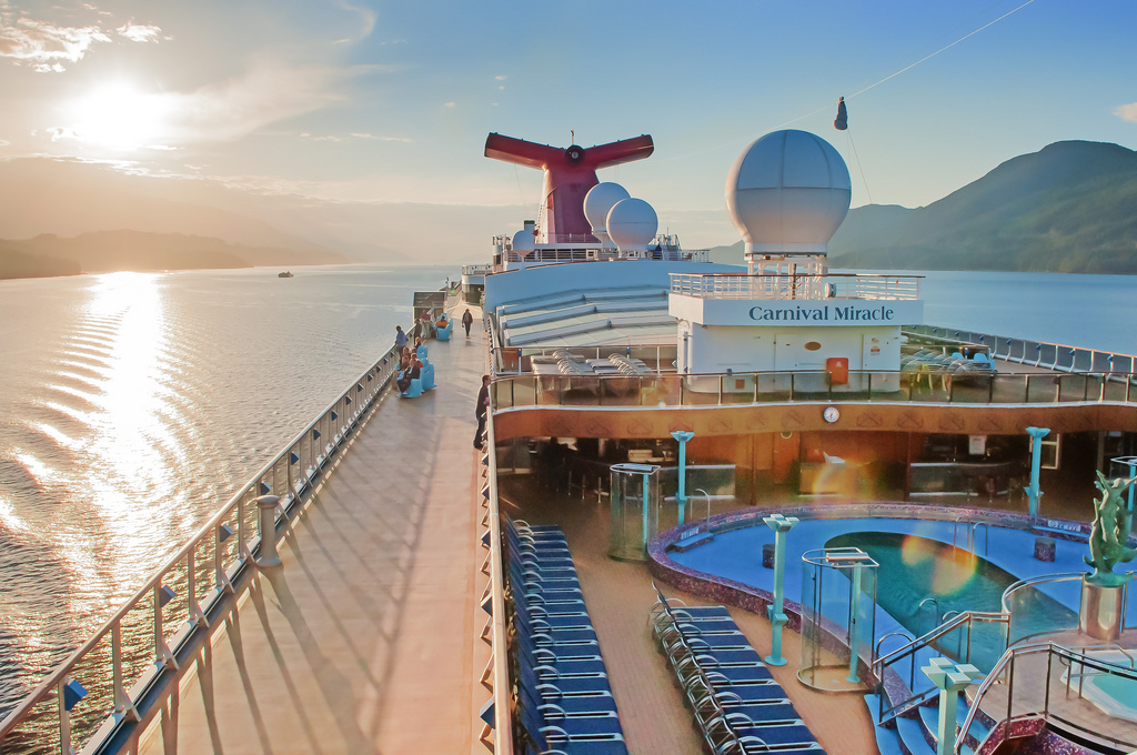 Carnival Miracle Alaska cruise (Photo by KevinJY)