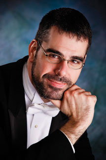 Symphony candidate Jeremy Briggs Roberts. (Photo courtesy Washington Idaho Symphony)