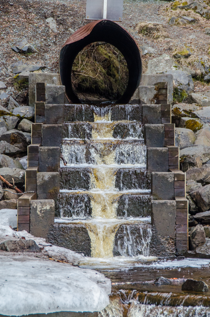 The fish passage up Picnic Creek will be updated as part of the plan. (Photo by Heather Bryant/KTOO)