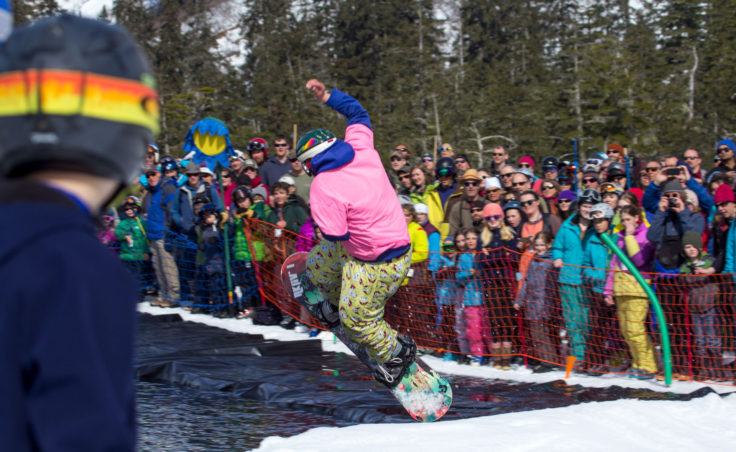 Slush Cup 2014 - Crowd Board