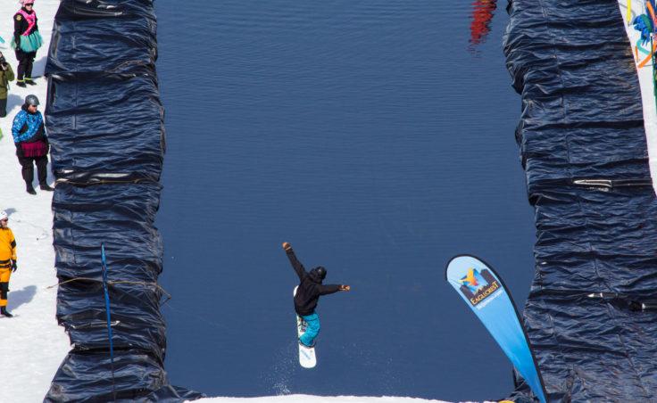 Slush Cup 2014 - Jump Clear Pond